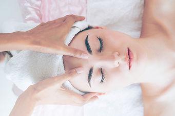 Facial and head massage in Napa CA