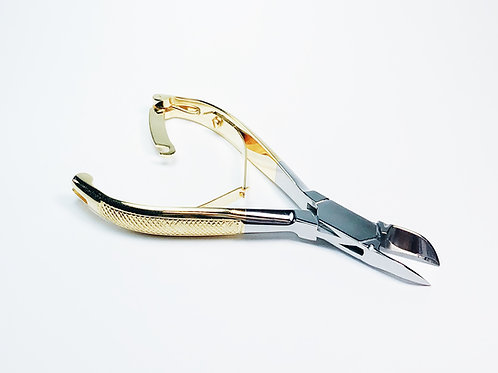 Cuticle and Nail Cutter (Gold)