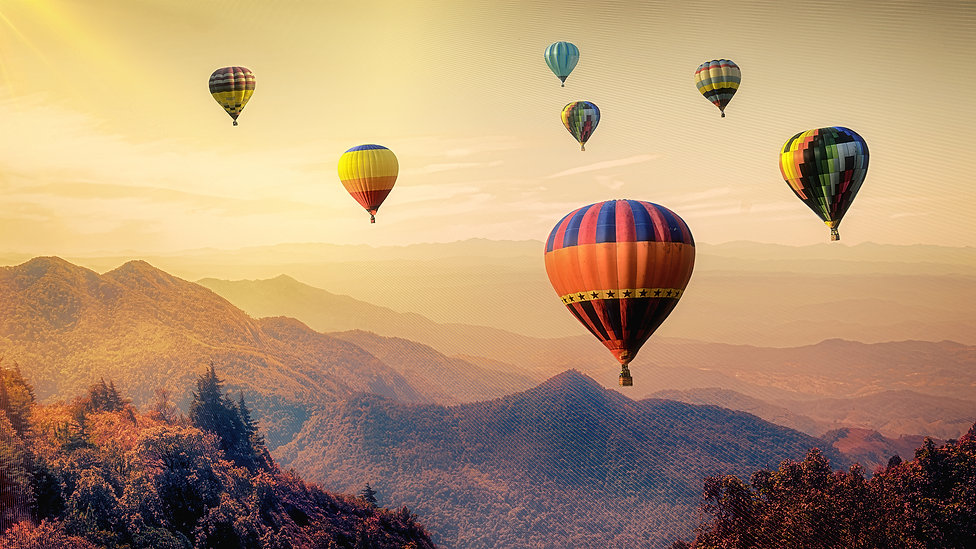 bigstock-Mountain-With-Hot-Air-Balloons-