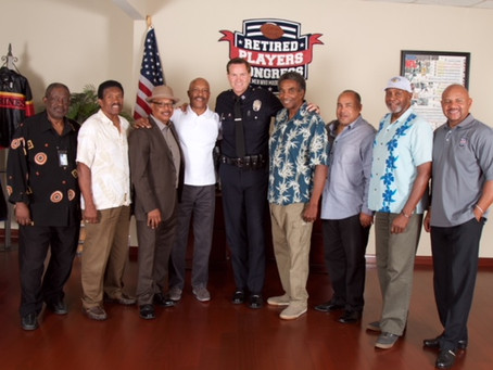 BrellaScope Hosts LAPD Hollywood Captain Cory Polka and NFL Retired Players roundtable discussions