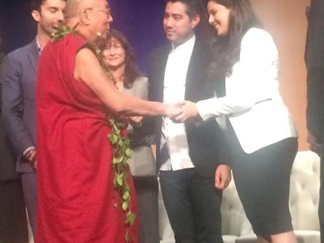 HH Dalai Lama with BrellaScope Next Gen