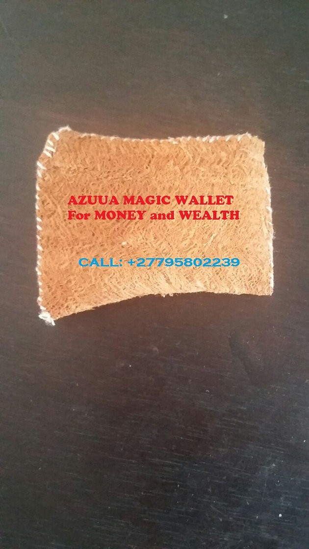 27795802239'' BEST AZUUA MAGIC WALLET For MONEY and WEALTH in