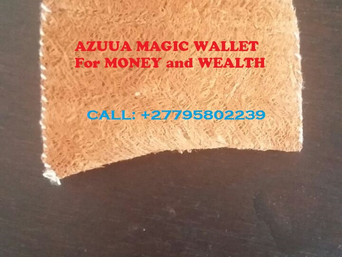 ''+27795802239'' POWERFUL AZUUA MAGIC WALLET FOR WEALTH in Sandton, Wheatlands AH, Utiliy Economics