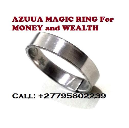 27795802239'' POWERFUL AZUUA MAGIC RING FOR WEALTH in Germiston