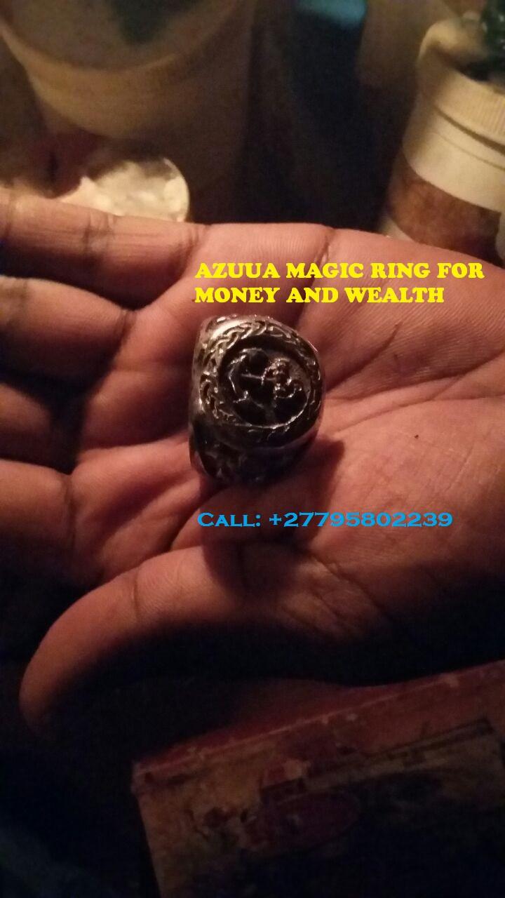 AZUUA Magic Ring for wealth