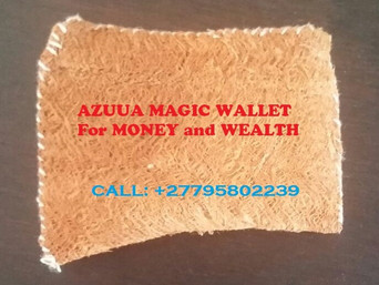 ''+27795802239'' POWERFUL AZUUA MAGIC WALLET FOR WEALTH in Westonaria, Rikasrus AH, Bekkersdal
