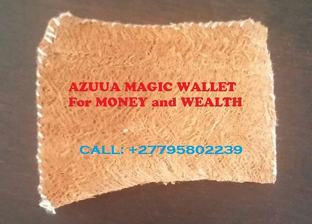 27795802239'' POWERFUL AZUUA MAGIC WALLET FOR WEALTH in