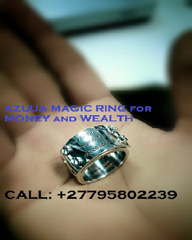 27795802239'' POWERFUL AZUUA MAGIC RING FOR WEALTH in Vaal, Sandton