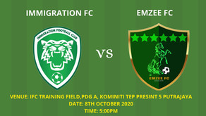 EMZEE FC: 12 new players to make their debut in the friendly match against Immigration Fc