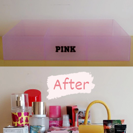 How To Create A Vanity Tray