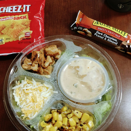 What I Eat In A {Work} Day/ Calorie Counter