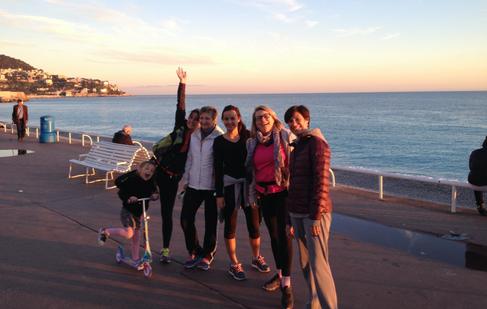 Semi-marathon puis marathon de Nice