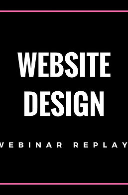 Website Design Webinar