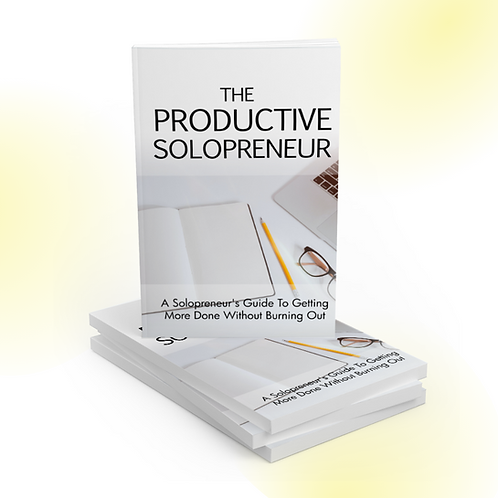 The Productive Solopreneur Ebook