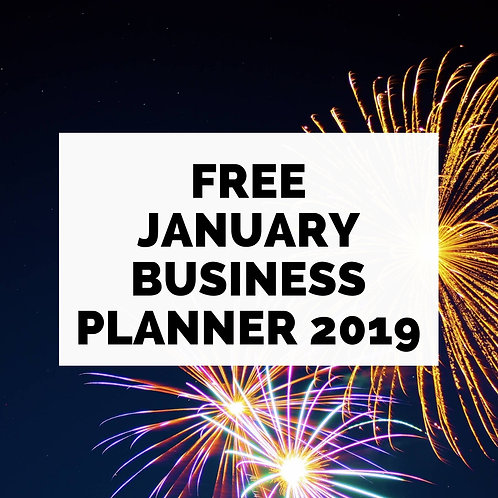 January Business Planner