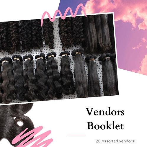 Vendors Booklet
