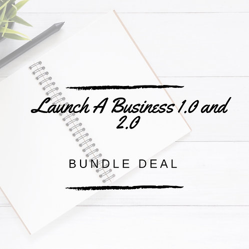Launch A Business 1.0 & 2.0 Bundle Deal