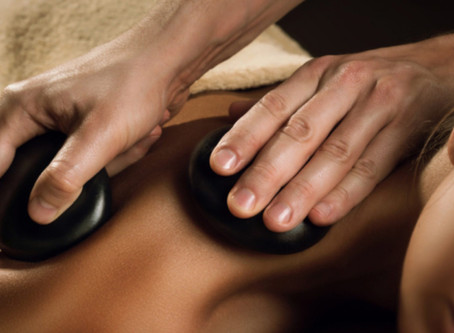 Ever Try a Hot Stone Massage