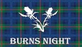 BURNS NIGHT EVENTS & BURNS SUPPERS 2021