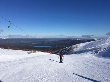 Perfect Snow on Cairngorm