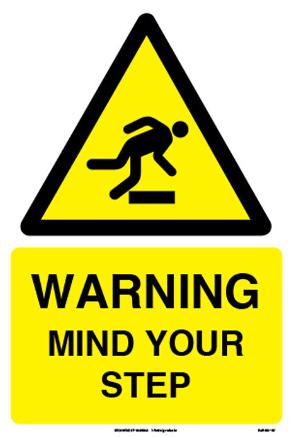 Warning Mind Your Step (SS-07)