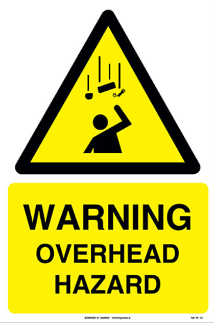 Warning Overhead Hazard IS - 07