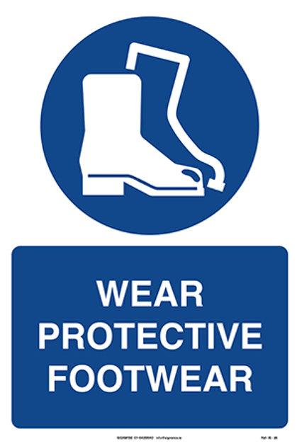 Wear Protective Footwear IS - 25