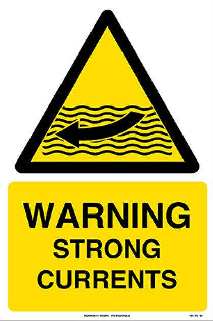 Warning Strong Currents WS - 04