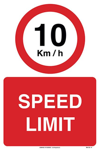 10 kmph Speed Limit SS - 41