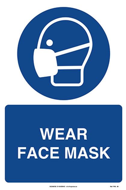 Wear Face Mask FHS - 29