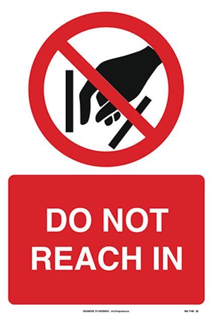 Do Not Reach In FHS - 22