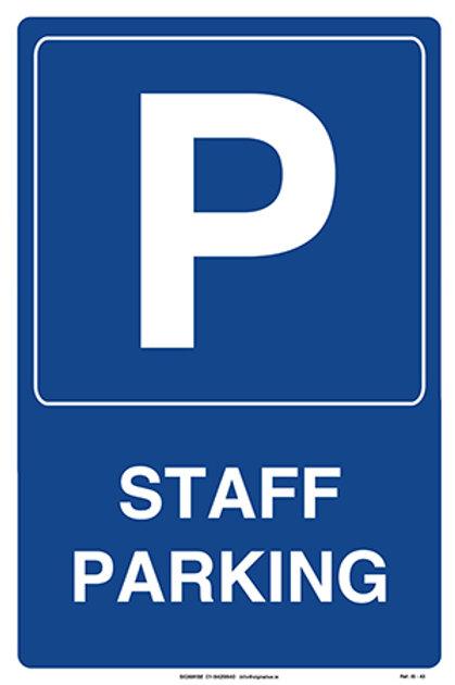 Staff Parking IS - 43