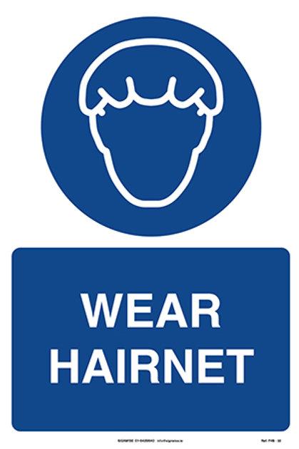 Wear Hairnet FHS - 33