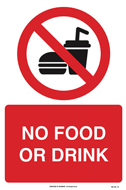 No Food or Drink SS - 16