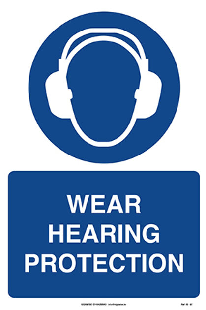 Wear Hearing Protection IS - 27