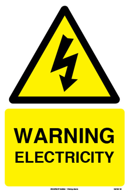 Warning Electricity (SS-05)