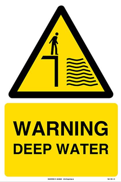 Warning Deep Water WS - 01