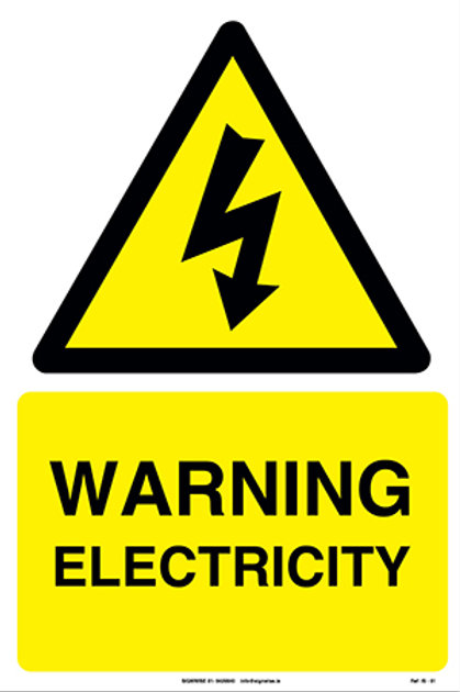 Warning Electricity IS - 01