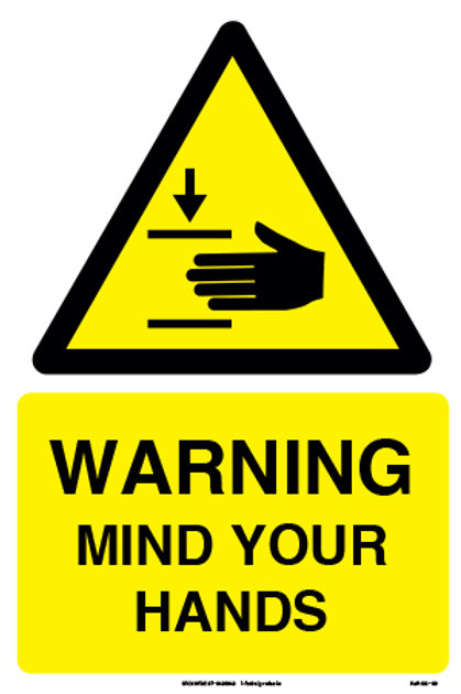 Warning Mind Your Hands (SS-09)
