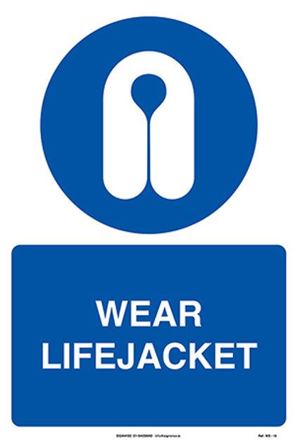 Wear Lifejacket WS - 16
