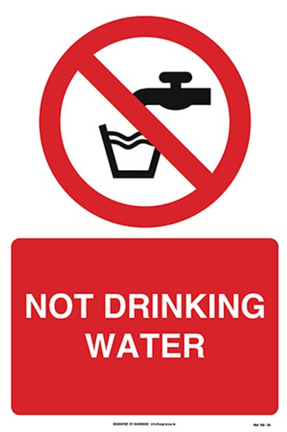 Not Drinking Water SS - 20