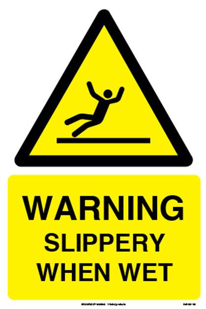 Warning Slippery When Wet (SS-08)