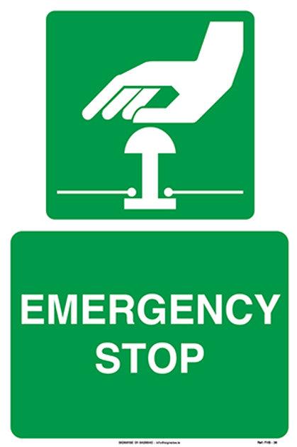 Emergency Stop FHS - 38