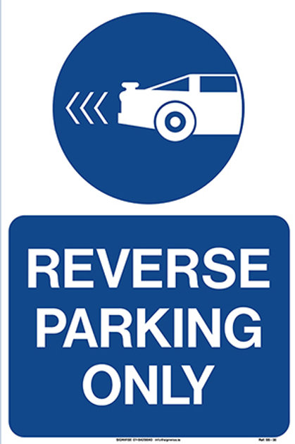 Reverse Parking Only SS - 30