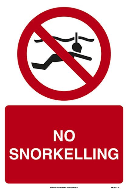 No Snorkelling WS - 13