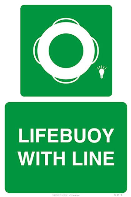 Lifebuoy With Line WS - 18