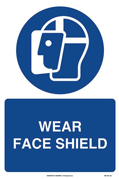 Wear Face Shield SS - 26