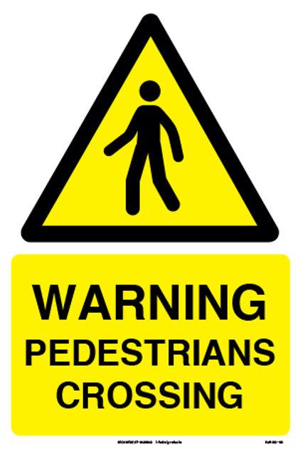 Warning Pedestrians Crossing (SS-03)
