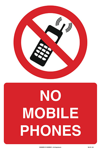 No Mobile Phones IS - 22