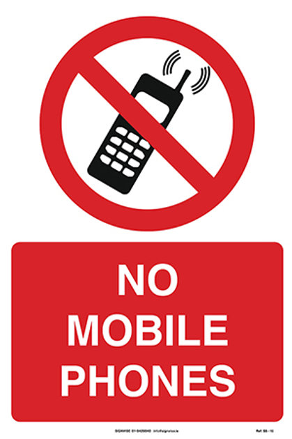 No Mobile Phones SS - 15
